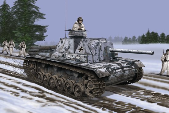 1/35 German SU-76i with Cupola